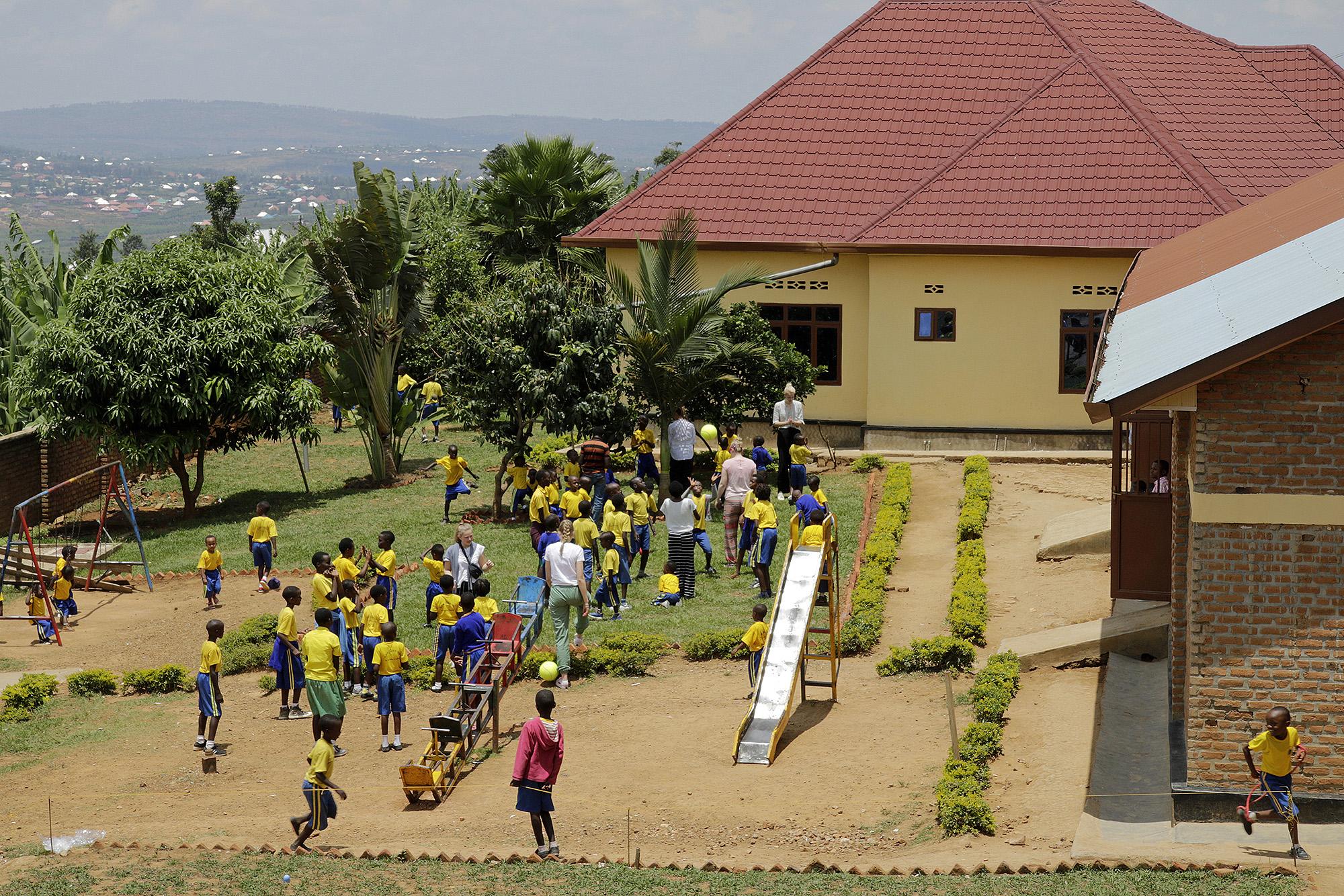 "Schule ""Les Genies"" in Ntarama/Ruanda"