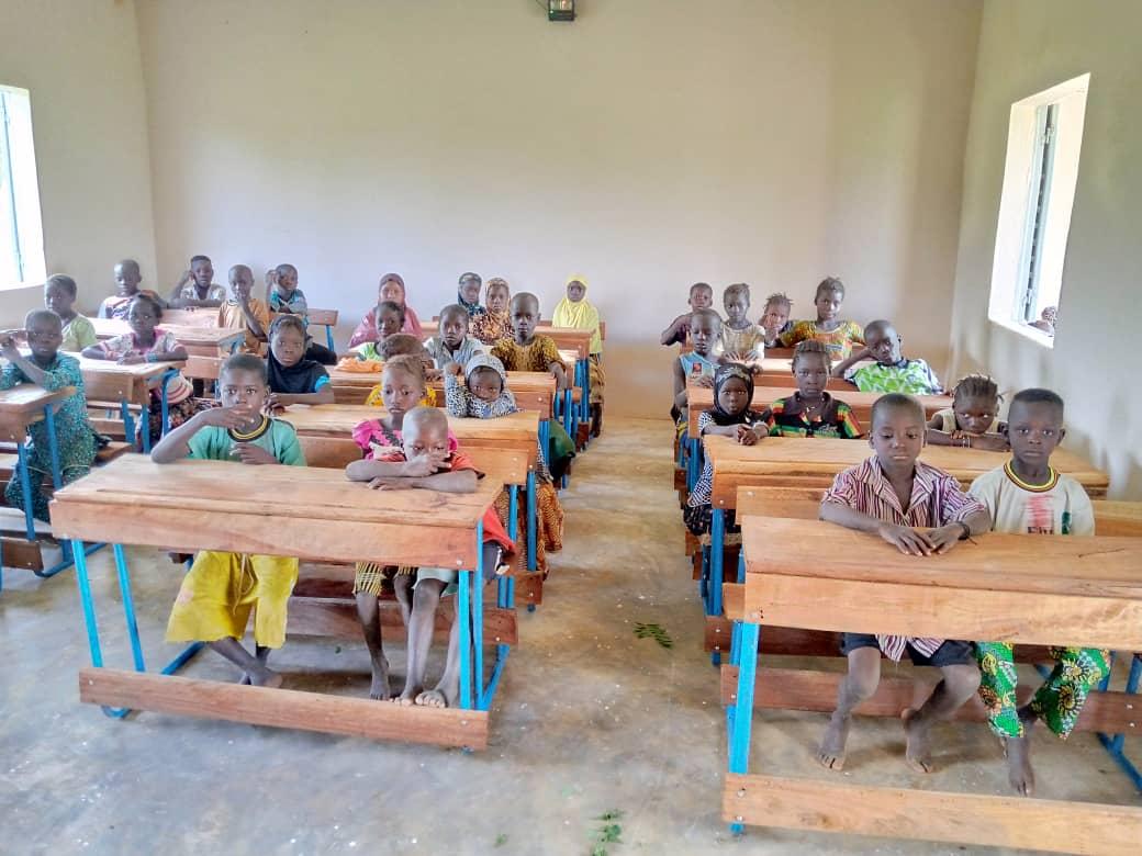 Schüler*innen in Kani Bonzon
