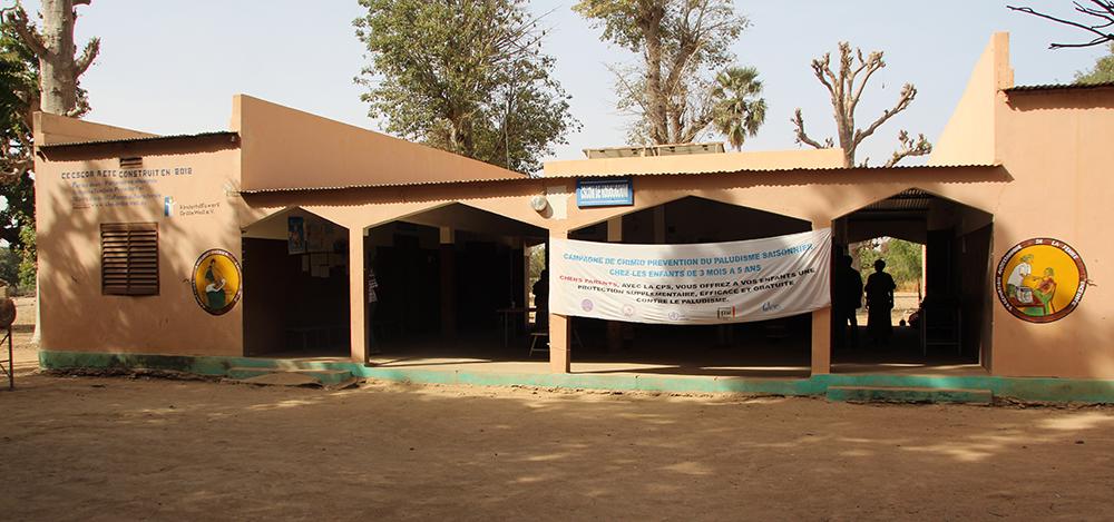 Ein Gesundheitszentrum in Mali, welches mit Hilfe des Kinderhilfswerks Eine Welt errichtet werden konnte.