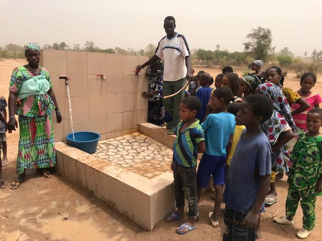 Brunnen in Diema/Mali.