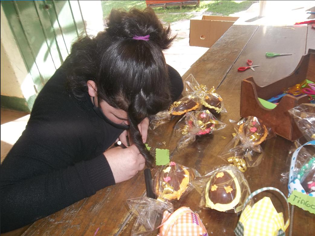 Ostereier dekorieren in Argentinien
